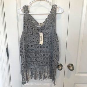 Fringed Cover Up